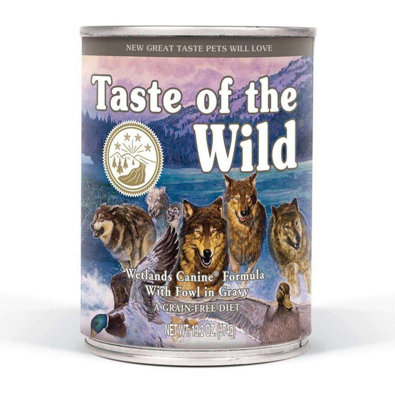 Taste Of The Wild Canned Dog Food Wetland Fowl, Canned Dog Food, Taste of the Wild Pet Foods - PetMax Canada