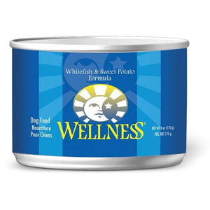 Wellness Canned Dog Food Whitefish & Sweet Potato | Canned Dog Food -  pet-max.myshopify.com