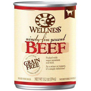 Wellness Canned Dog Food 95% Beef | Canned Dog Food -  pet-max.myshopify.com