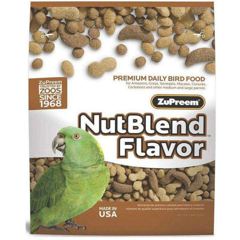 Zupreem Nut Blend Medium & Large Birds, Bird Food, Zupreem Premium Nutritional Product - PetMax
