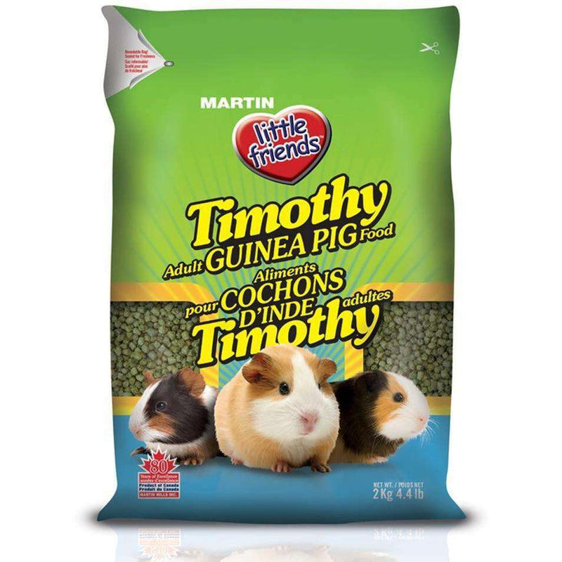 Martin Little Friends Timothy Guinea Pig Food, Small Animal Food Dry, Martin Mills - PetMax Canada