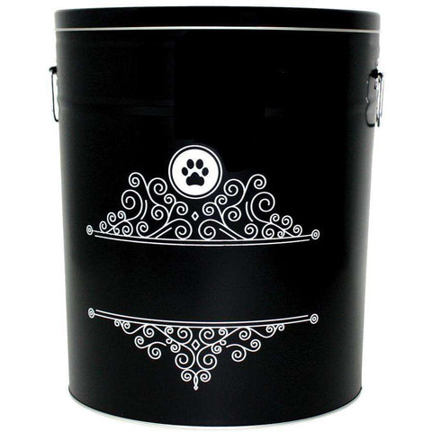 Be One Breed Food Bin Bon Appetit Black, Home Decor, Be One Breed - PetMax Canada