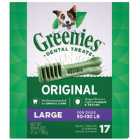Greenies Dental Treat Original Large Dog Treats 756g 756g - PetMax.ca