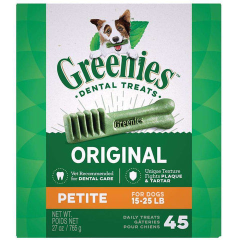 Greenies Dental Treat Original Petite