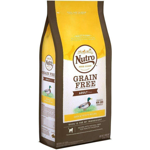 Nutro Cat Food Grain Free Duck & Potato, Dry Cat Food, Nutro Pet Products - PetMax