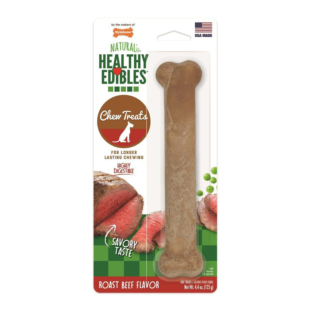 Nylabone Healthy Edible Roast Beef Giant Chew Products - PetMax