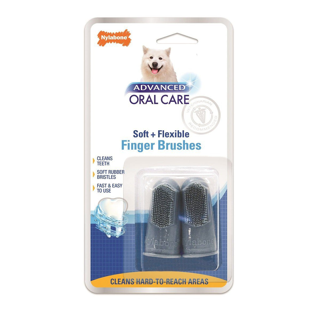 Nylabone Finger Brush  Health Care - PetMax