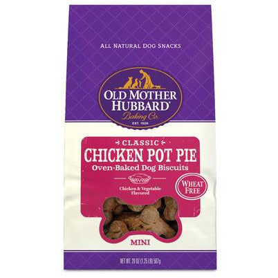 Old Mother Hubbard Chicken Pot Pie Mini  Dog Treats - PetMax