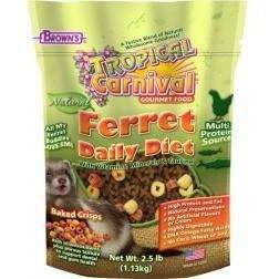 Brown's Zoo-Vital Ferret Food  Small Animal Food Dry - PetMax
