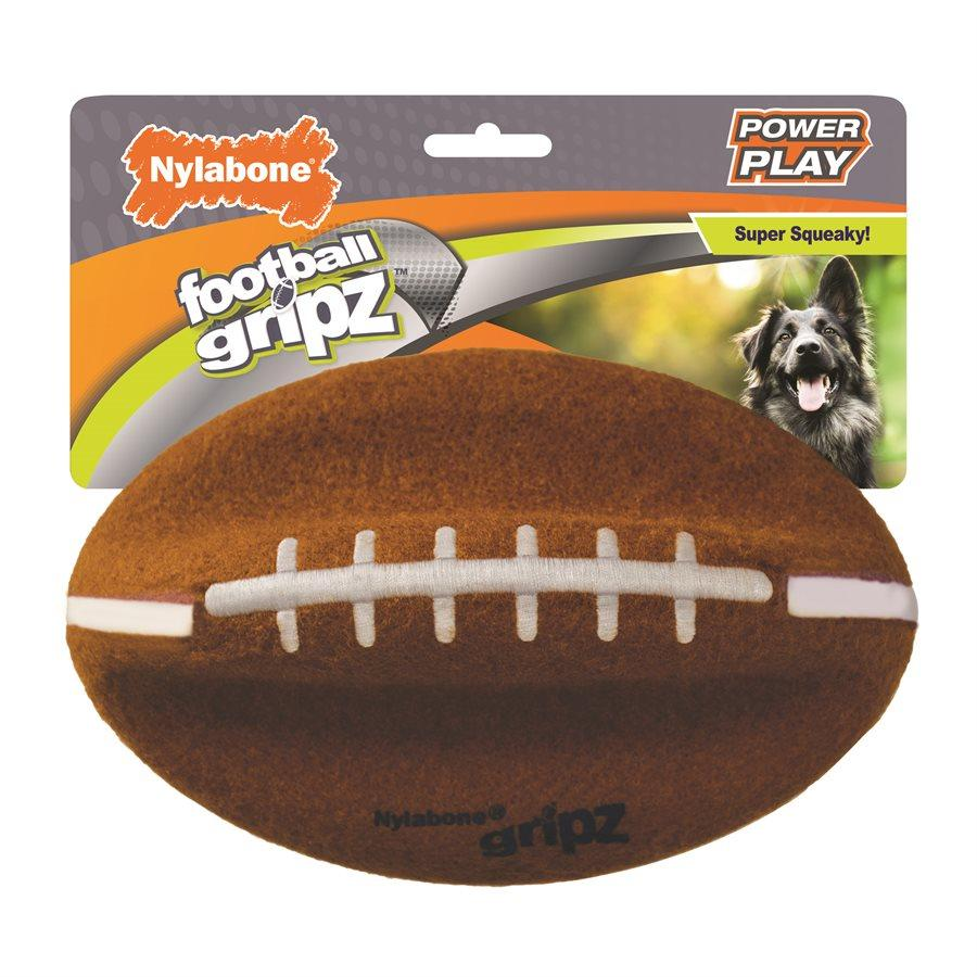 Nylabone Play Football  Dog Toys - PetMax