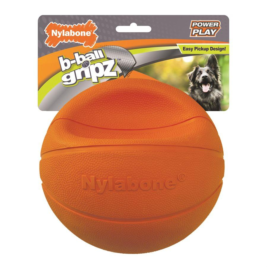 Nylabone Play Basketball  Dog Toys - PetMax