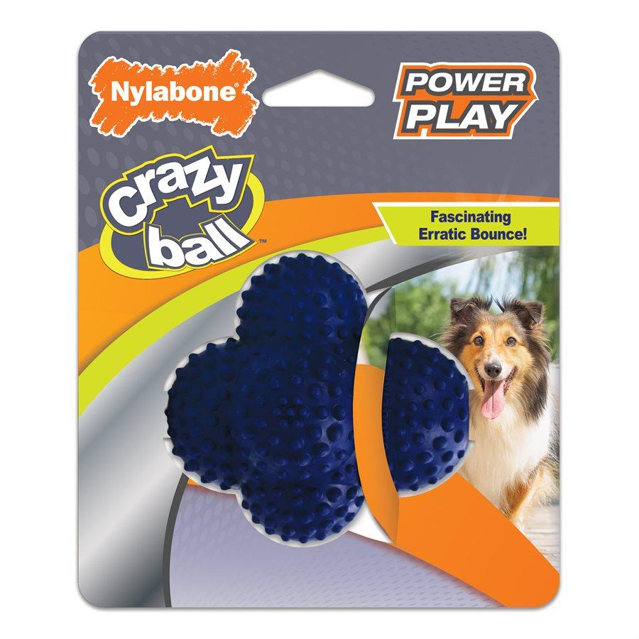 Nylabone Play Crazy Ball  Dog Toys - PetMax