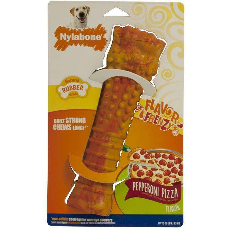 Nylabone Flavor Frenzy Pepperoni Pizza | Chew Products -  pet-max.myshopify.com