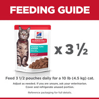 Hill's Science Diet Adult Canned Cat Food, Tuna, 79g pouch [variant_title] [option1] | Canned Cat Food Hills Pet Nutrition Canada Inc. -  PetMax.ca