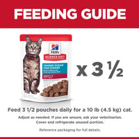 Hill's Science Diet Adult Canned Cat Food, Ocean Fish, 79g pouch [variant_title] [option1] | Canned Cat Food Hills Pet Nutrition Canada Inc. -  PetMax.ca