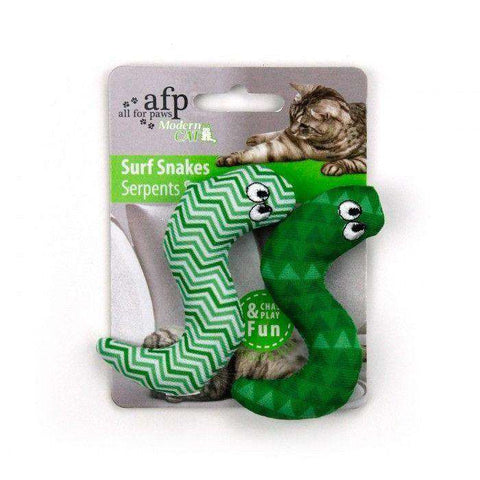 All For Paws Cat Toy Surf Snake 2 Pack, Cat Toys, All for Paws - PetMax