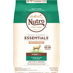 Nutro Wholesome Essentials Dog Food Adult Lite, Dog Food, Nutro Pet Products - PetMax