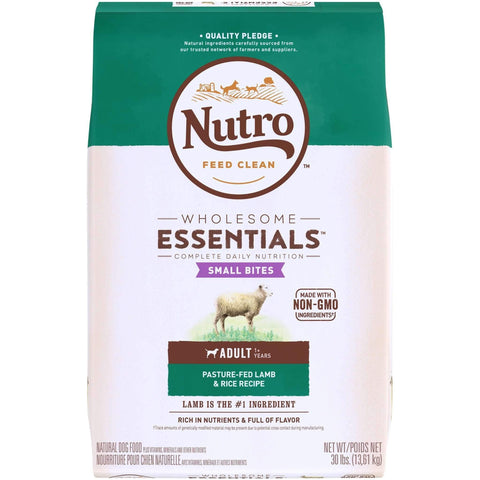 Nutro Wholesome Essentials Dog Food Adult Lamb Small Bite, Dog Food, Nutro Pet Products - PetMax