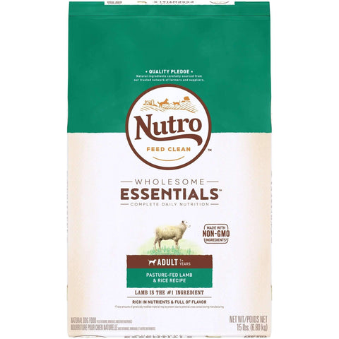 Nutro Wholesome Essentials Dog Food Adult Lamb & Rice, Dog Food, Nutro Pet Products - PetMax