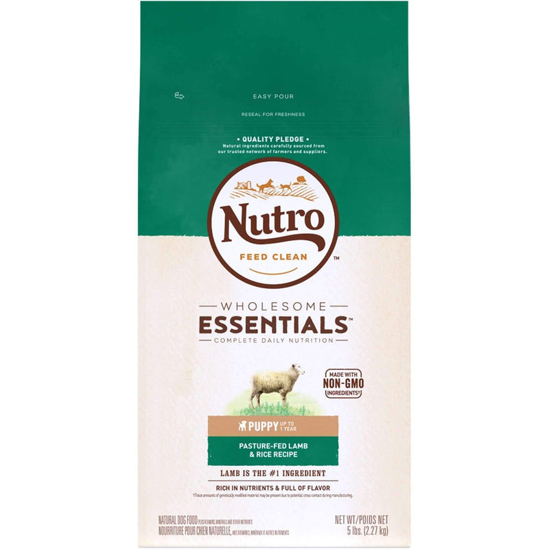Nutro Wholesome Essentials Puppy Food Lamb And Rice Dog Food [variant_title] [option1] - PetMax.ca