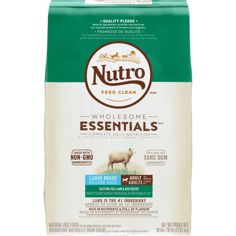 Nutro Wholesome Essentials Dog Food Large Breed Adult Lamb, Dog Food, Nutro Pet Products - PetMax