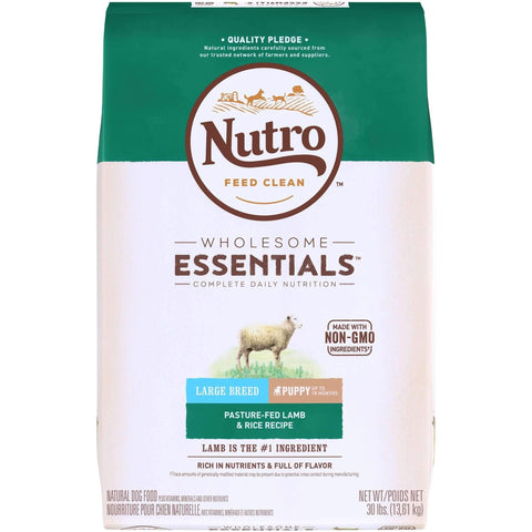 Nutro Wholesome Essentials Puppy Food Large Breed Lamb, Dog Food, Nutro Pet Products - PetMax