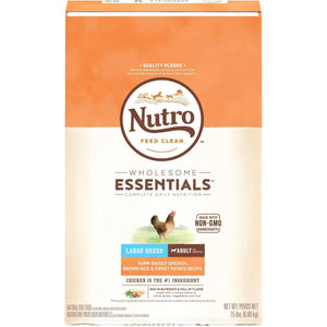 Nutro Wholesome Essentials Puppy Food Large Breed Dog Food [variant_title] [option1] - PetMax.ca