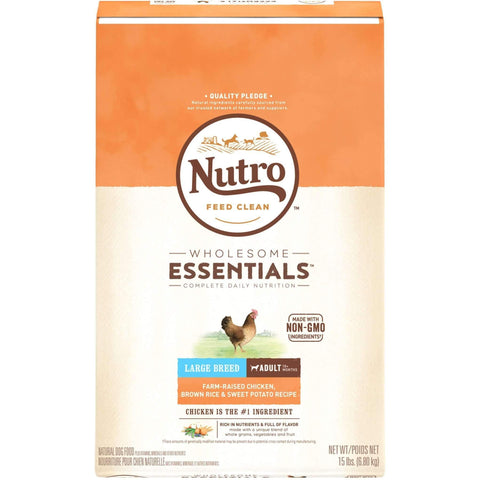 Nutro Wholesome Essentials Puppy Food Large Breed, Dog Food, Nutro Pet Products - PetMax