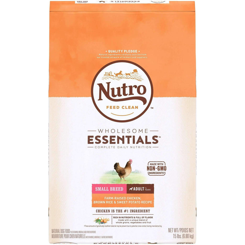 Nutro Wholesome Essentials Dog Food Adult Small Breed Chicken, Dog Food, Nutro Pet Products - PetMax
