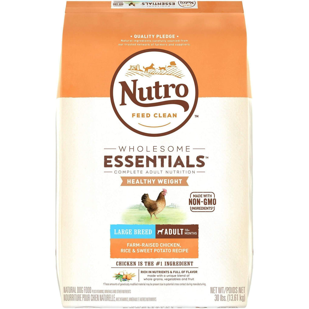 Nutro Wholesome Essentials Dog Food Large Breed Weight Management | Dog Food -  pet-max.myshopify.com
