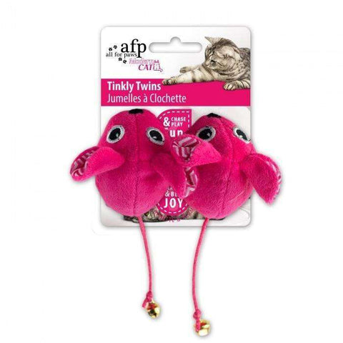 All For Paws Cat Toy Tinkly Twins