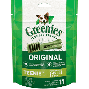 Greenies Trial Size Dental Treat Original Teenie