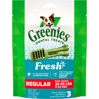 Greenies Fresh Treats Regular