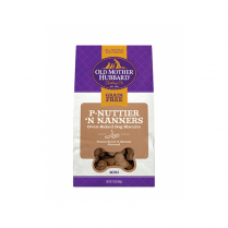 Old Mother Hubbard Mini Grain Free P'Nuttier 'N Nanners Oven-Baked Dog Biscuits