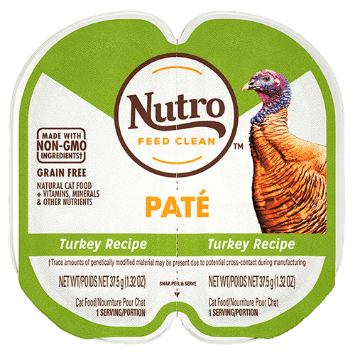 Nutro Cat Perfect Portions Pate Turkey  Canned Cat Food - PetMax