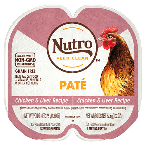 Nutro Cat Perfect Portions Pate Chicken & Liver  Canned Cat Food - PetMax
