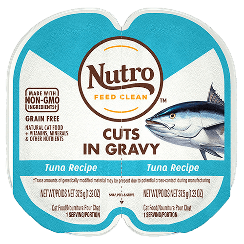Nutro Cat Perfect Portions Cuts In Gravy Tuna  Canned Cat Food - PetMax