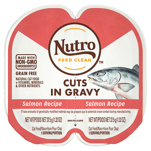 Nutro Cat Perfect Portions Cuts In Gravy Salmon  Canned Cat Food - PetMax