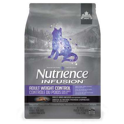 Nutrience Infusion Cat Food Adult Weight Control  Dry Cat Food - PetMax