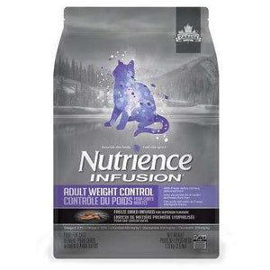 Nutrience Infusion Cat Food Adult Weight Control | Dry Cat Food -  pet-max.myshopify.com