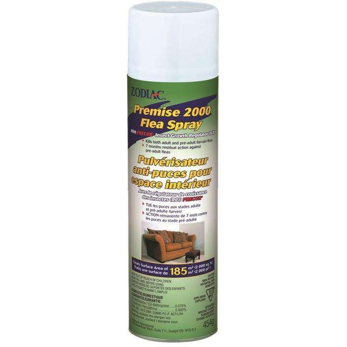 Zodiac Premise 2000 Flea Spray Dog Flea & Tick [variant_title] [option1] - PetMax.ca