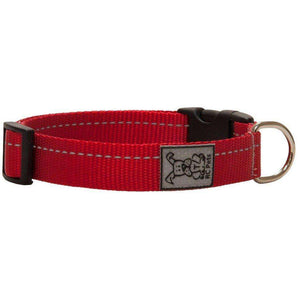 RC Adjustable Dog Collar Primary Red  Dog Collars - PetMax