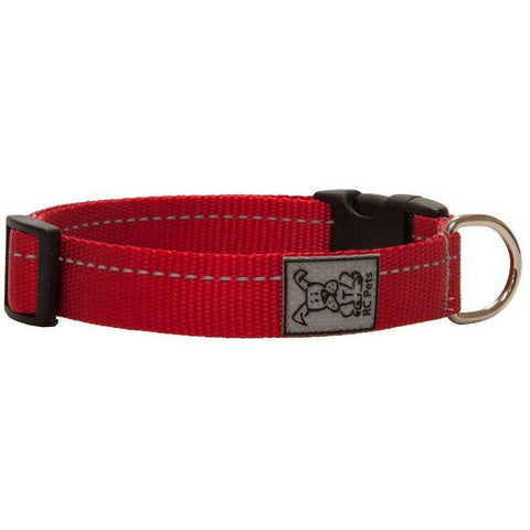 RC Dog Adjustable Collar Primary Red, Dog Collars, RC Pet Products - PetMax Canada