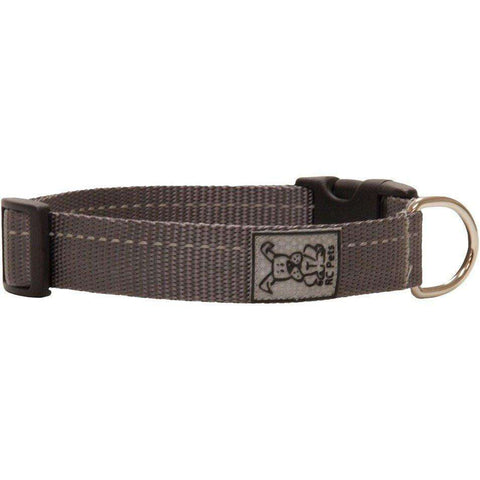 RC Dog Adjustable Collar Primary Charcoal
