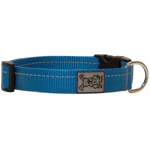 RC Dog Adjustable Collar Primary Cyan