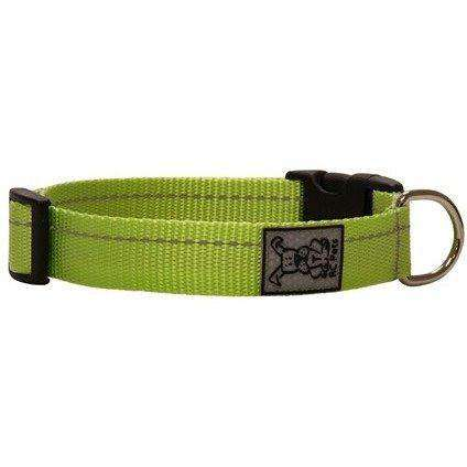 RC Dog Adjustable Collar Primary Lime, Dog Collars, RC Pet Products - PetMax Canada