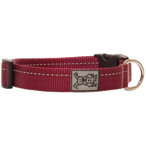 RC Dog Adjustable Collar Primary Burgundy