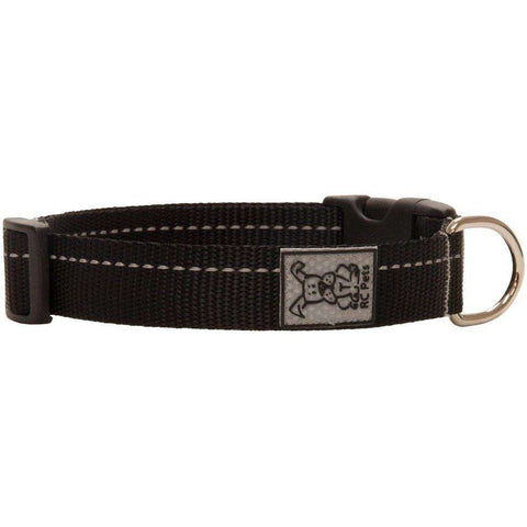 RC Dog Adjustable Collar Primary Black