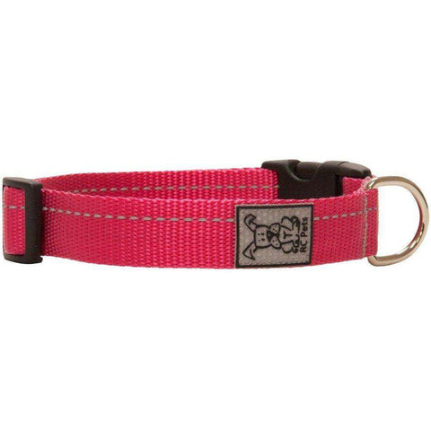 RC Dog Adjustable Collar Primary Raspberry