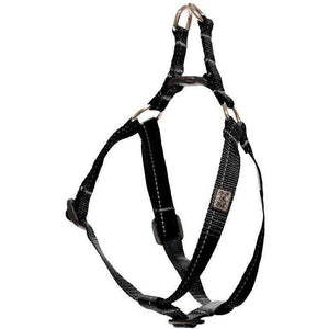 RC Step In Dog Harness Primary Black / 1/2 X 10 - 16 Harnesses - PetMax
